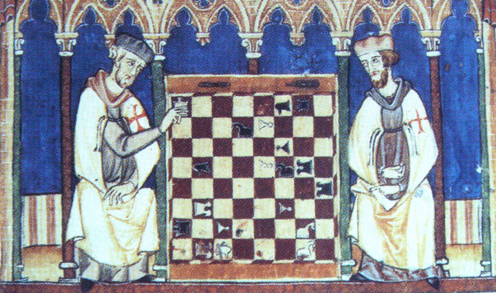 Libro Fol Pdf File Knights Templar Playing Chess 1283 Jpg The Work Of