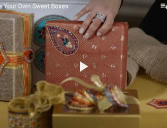 DIY Indian (Mithai) Sweet Boxes