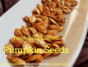 Recipe: Tandoori Roasted Pumpkin Seeds