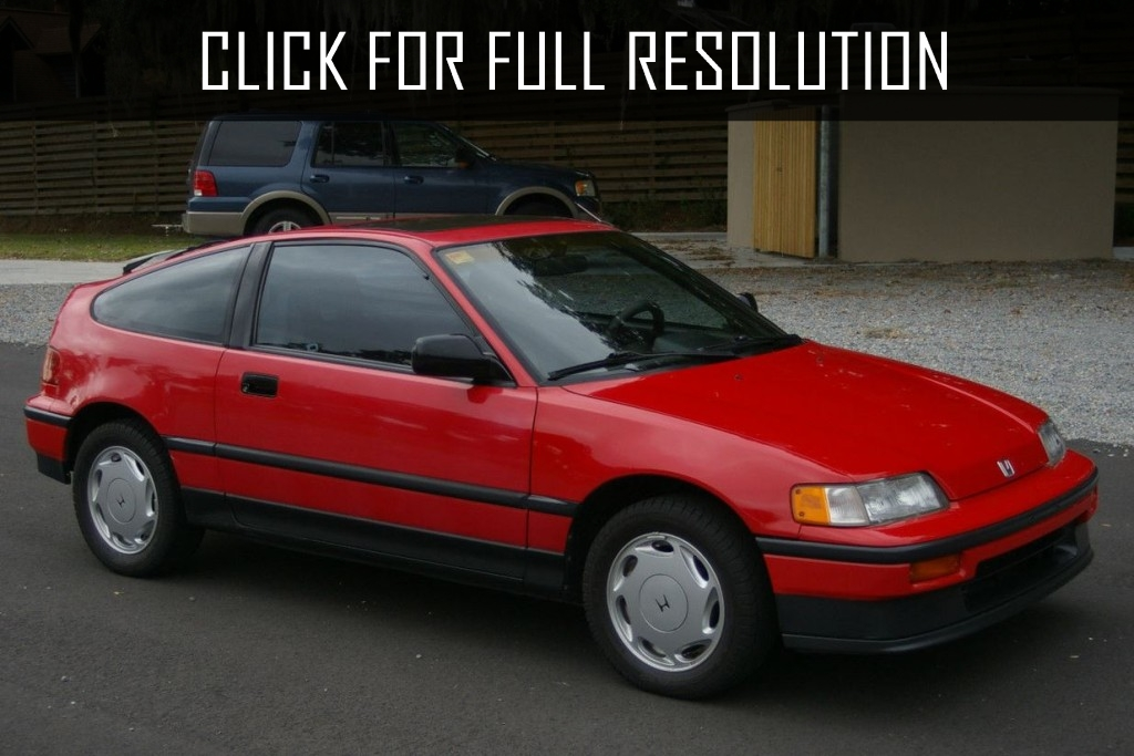 1989 Honda Crx - news, reviews, msrp, ratings with amazing images