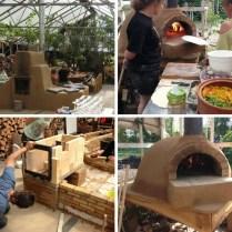 Rockestove leemkachel en pizzaoven in Open Kas - Haren