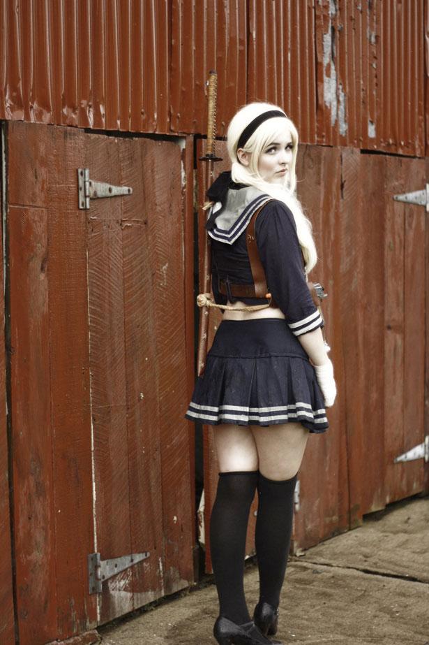 Girl With Sword Wallpaper Babydoll Sucker Punch 6 Fotos M 225 S Cosplay