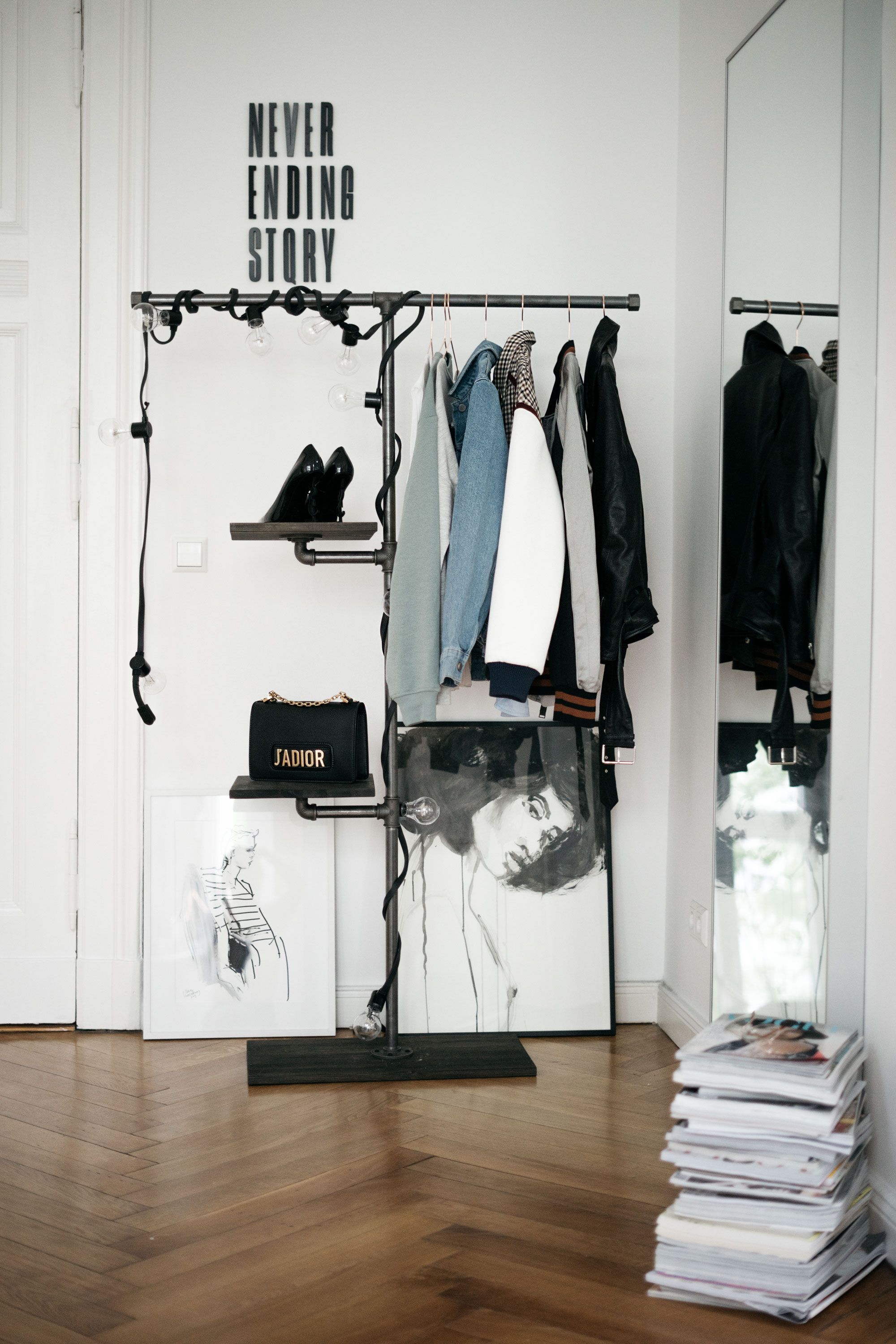 Schrank Sortiersystem 9 Tips For A Tidier Closet Fashion Blog From Germany Modeblog