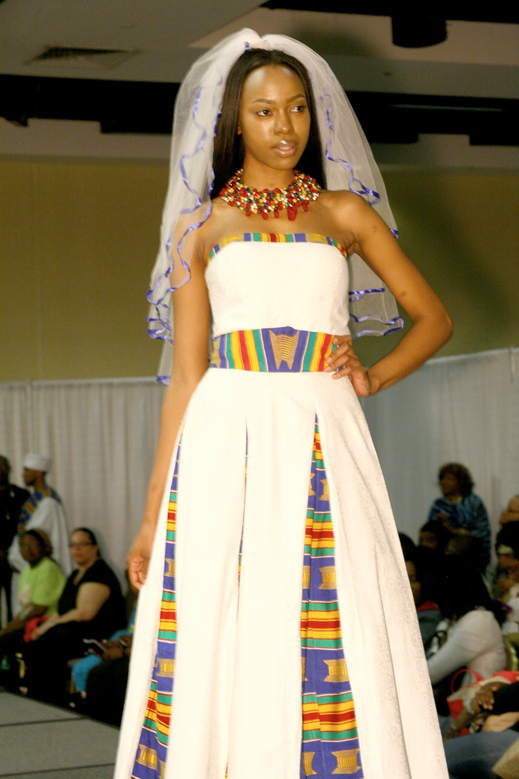 rock an african wedding dress on your big day african print wedding dresses Afrowed 8