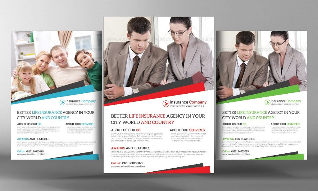 Insurance Flyers 14 Professional Life Insurance Flyers PSD - insurance flyer templates