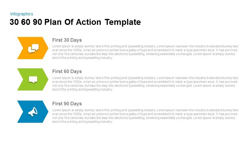 30 60 90 Day Plan Powerpoint Templates for everyone - 90 day plan template