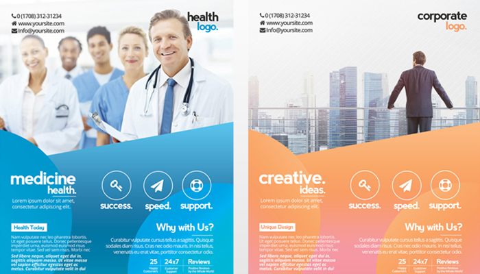 25 Free Business Flyer Templates for Photoshop - Mashtrelo