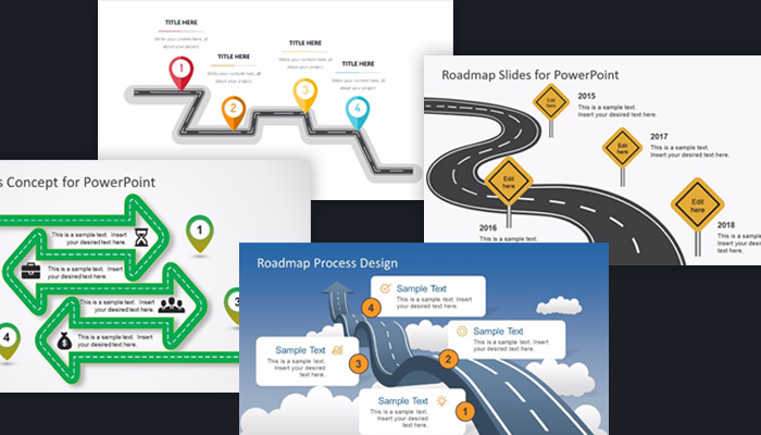 25 Free Project Roadmap Powerpoint Templates - Mashtrelo - project roadmap template