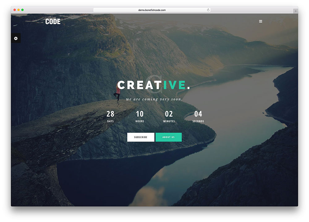 50 HTML5 Website Under Construction - Coming Soon Templates
