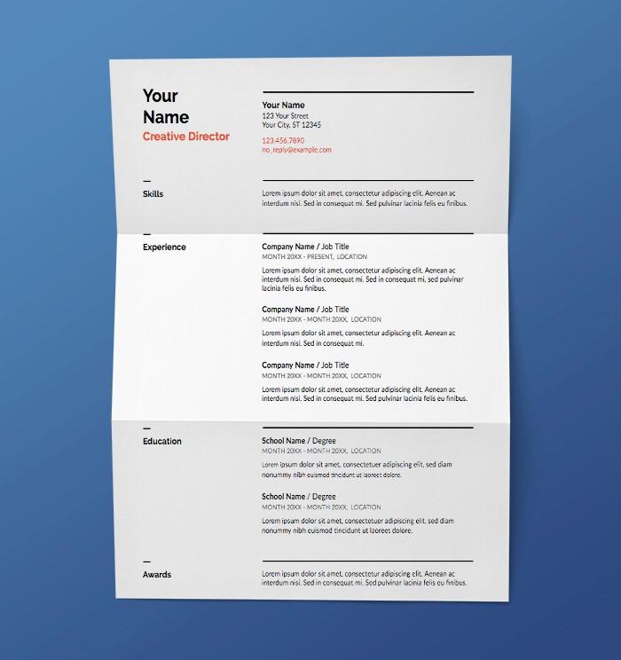 21+ Best Google Docs Resume Templates - Google Drive Examples