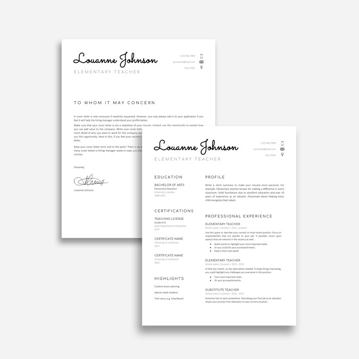 21+ Best Google Docs Resume Templates - Google Drive Examples - Resume Google Docs