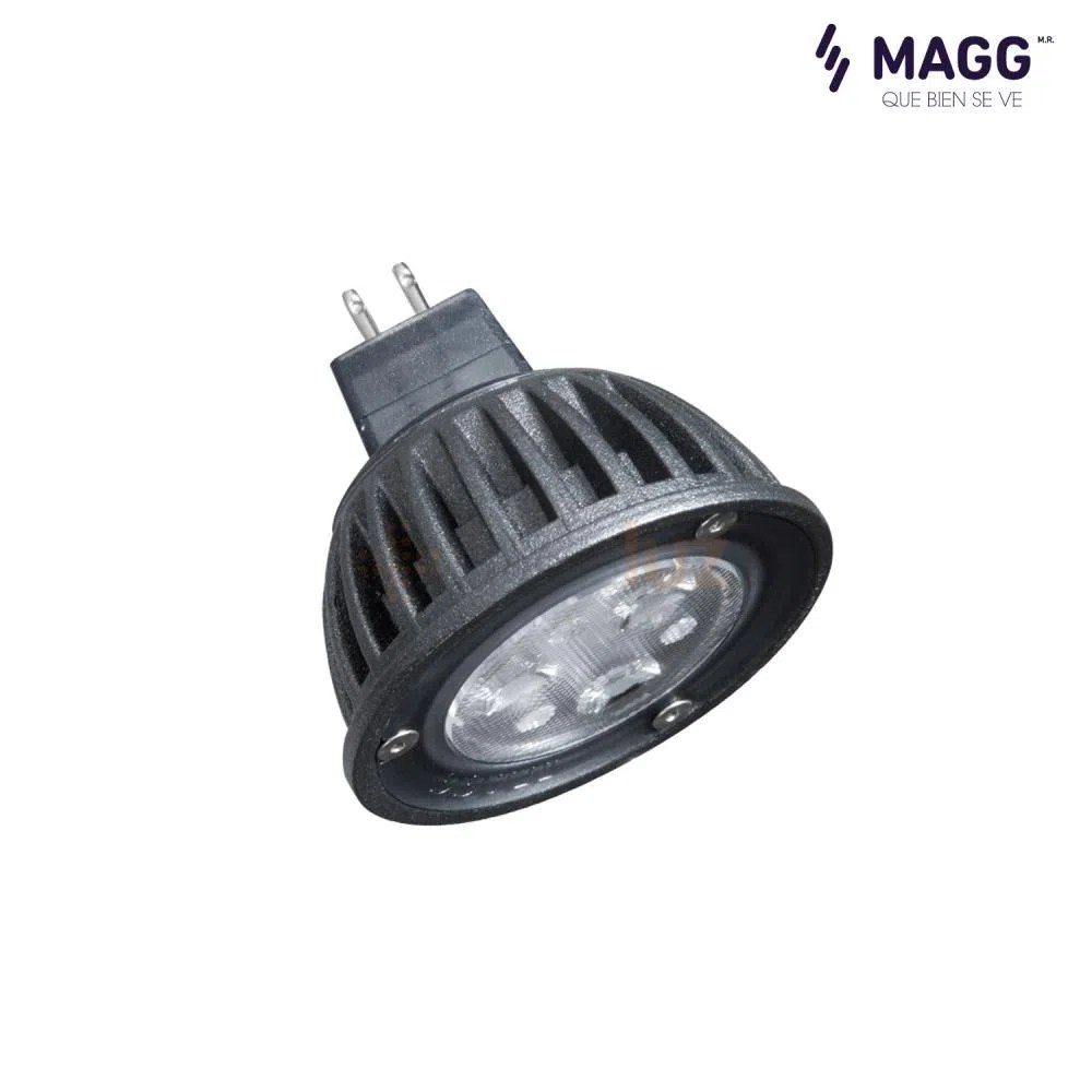 Lamparas Led 3w Lámpara Dicroico Led Mr300 12v 3w Magg Masluz