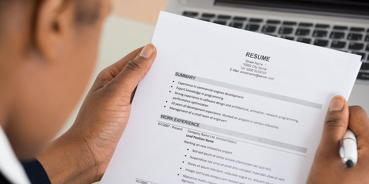 5 Tips For Creating The Most Effective Healthcare Resume