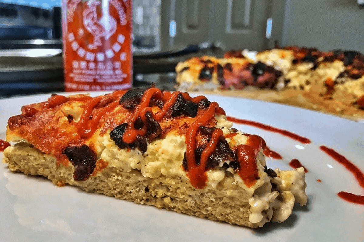 Low Carb Protein Kuchen Creamy Low Carb Breakfast Pizza Mason Woodruff