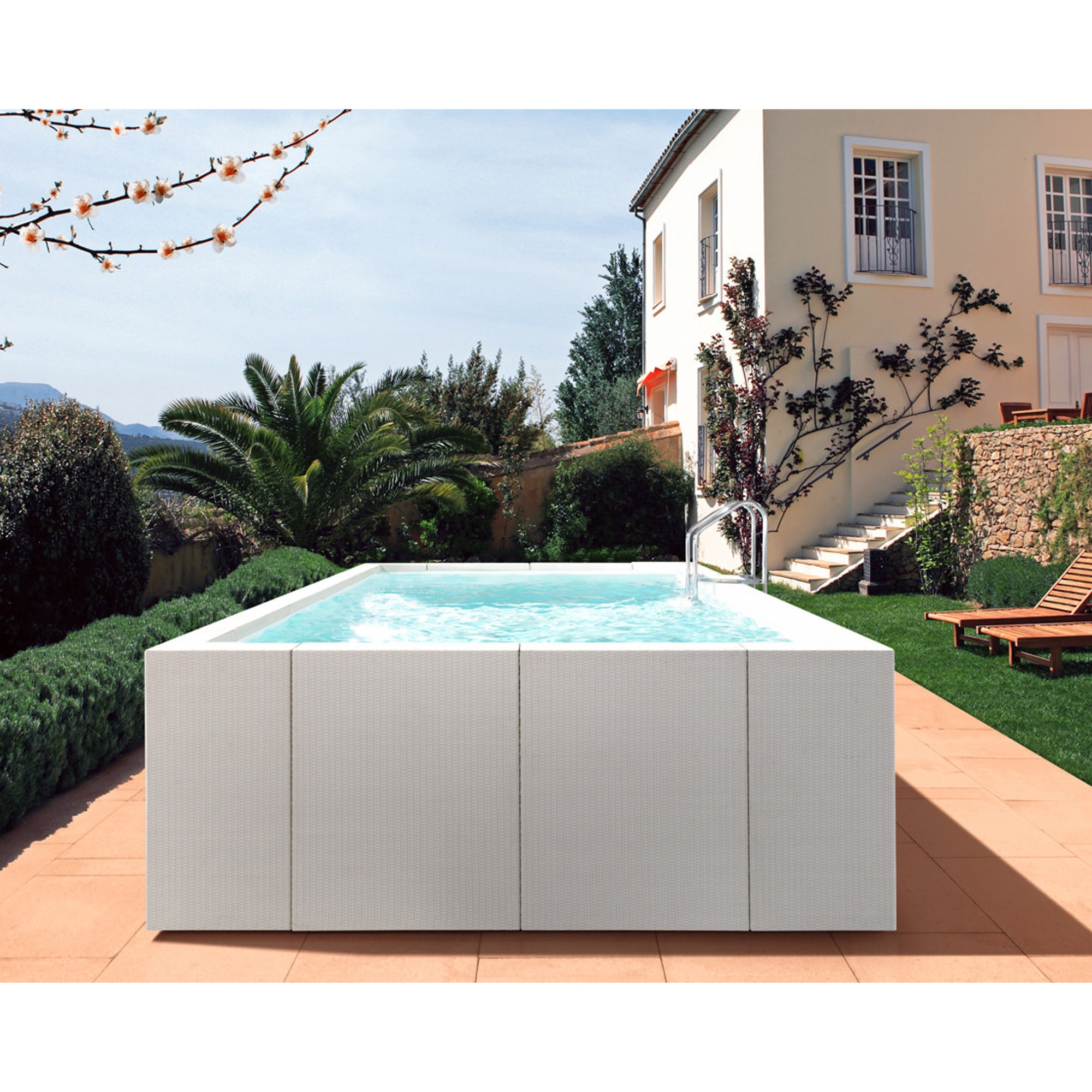 Piscine 4x6 Dolcevita Diva Jacuzzi And Minipools Wellness And Spa