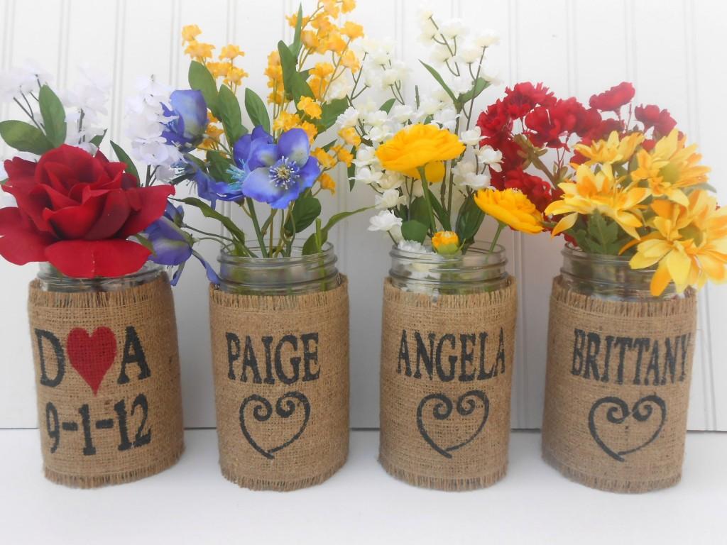Mason jar crafts wedding - Mason Jar Crafts Wedding 14