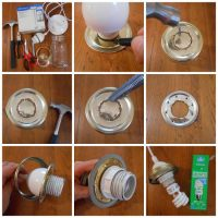 Make a Pretty Mason Jar Pendant Light - Mason Jar Crafts