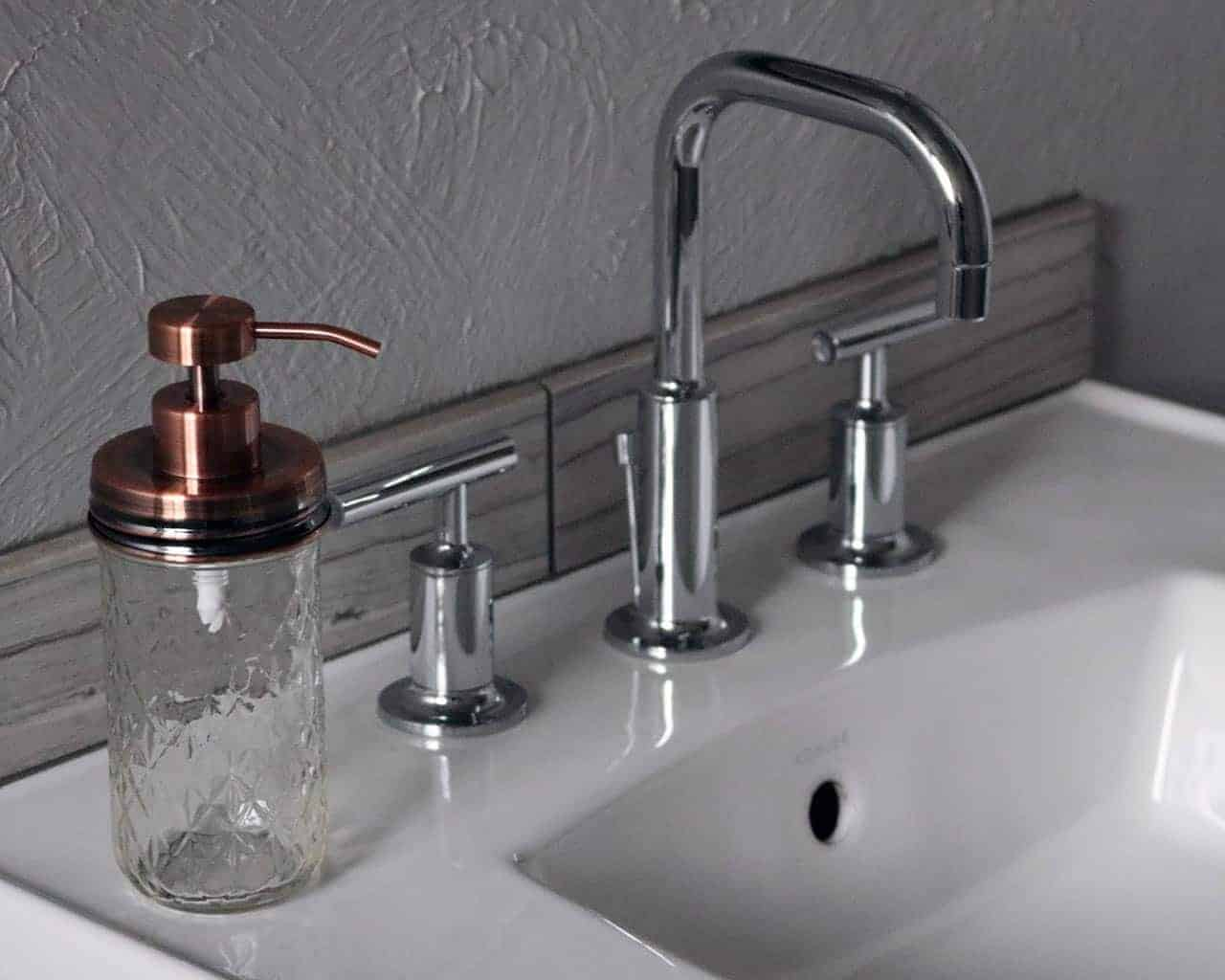 Vintage Bathroom Soap Dispenser Vintage Copper Soap Pump Lid Kit For Regular Mouth Mason Jars