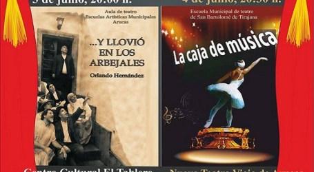 San Bartolomé de Tirajana y Arucas sellan su primera colaboración cultural