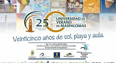 La Universidad de Verano de Maspalomas propone 15 cursos y 7 talleres