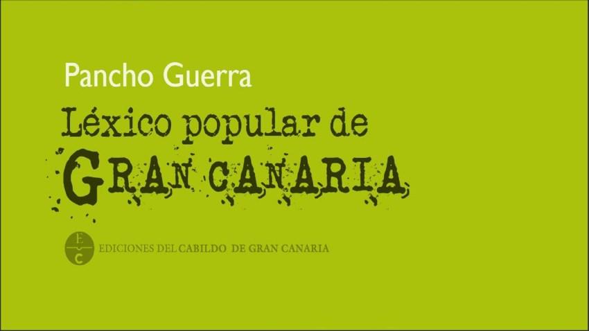 Pancho Guerra, detalle de la cubierta del libro
