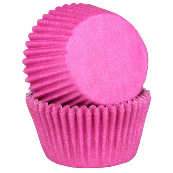 Decoration Gateau Chevalier Moule A Muffin Et Cupcake Fuschia (x45) - Maspatule.com