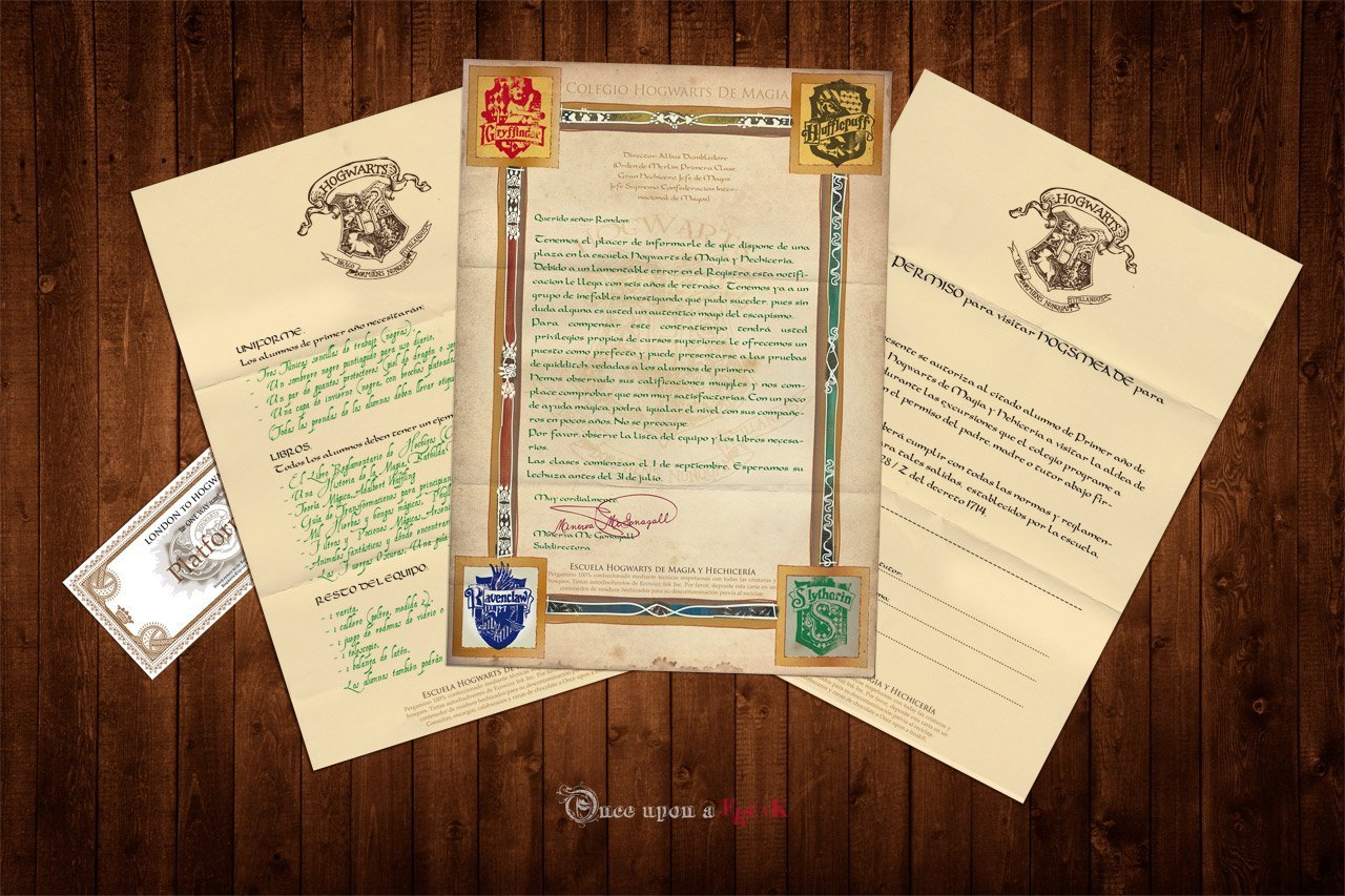 Pack Todos Los Libros De Harry Potter Pack Diy De Acceso A Hogwarts Imprimible Máscaras