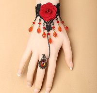 "alt=""retro victorian wrist decorative bracelet"""