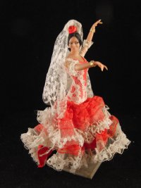 "alt=""flamenco dancer doll"""