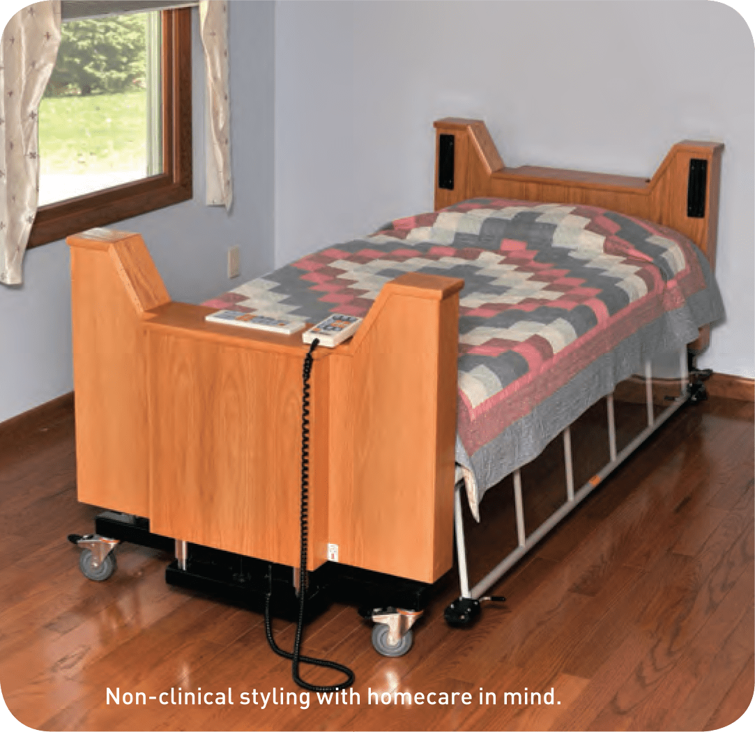 Freedom Headboard Probed Medical The Freedom Bed Package