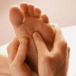 Thaise voet- en onderbeenmassage