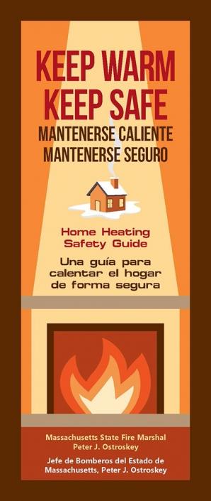 Keep Warm, Keep Safe Pamphlet - English  Spanish Massachusetts