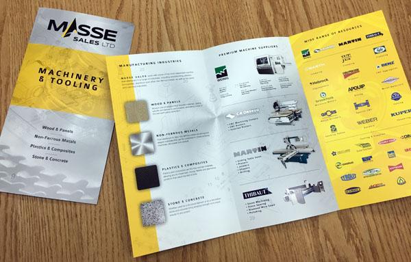 New Masse Sales brochures - Masse Sales Ltd