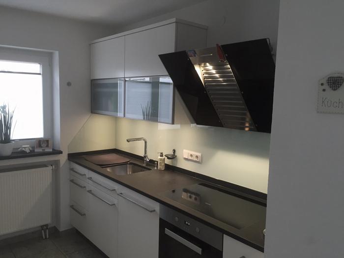 Arbeitsplatte Küche Nussbaum Optik