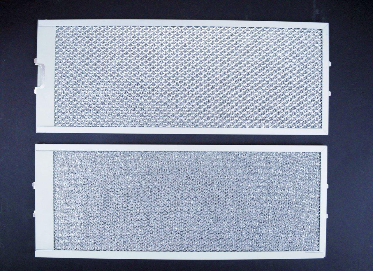Fettfilter dunstabzugshaube reinigen fettfilter rechteckig metall