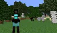 Updating to Minecraft 1.6.1  Yay.. the horsies are here ...