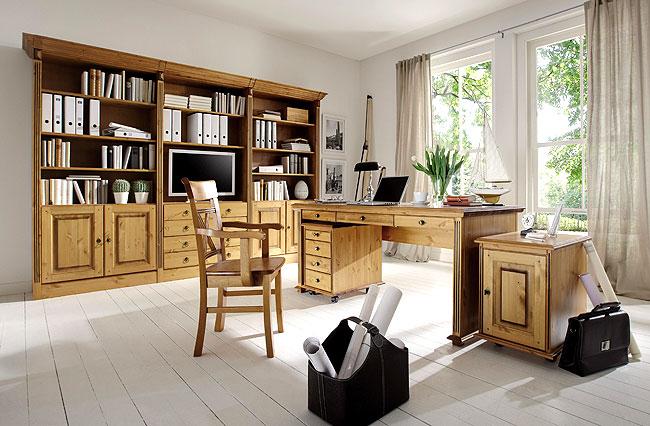 Regalsystem Holz Wohnzimmer
