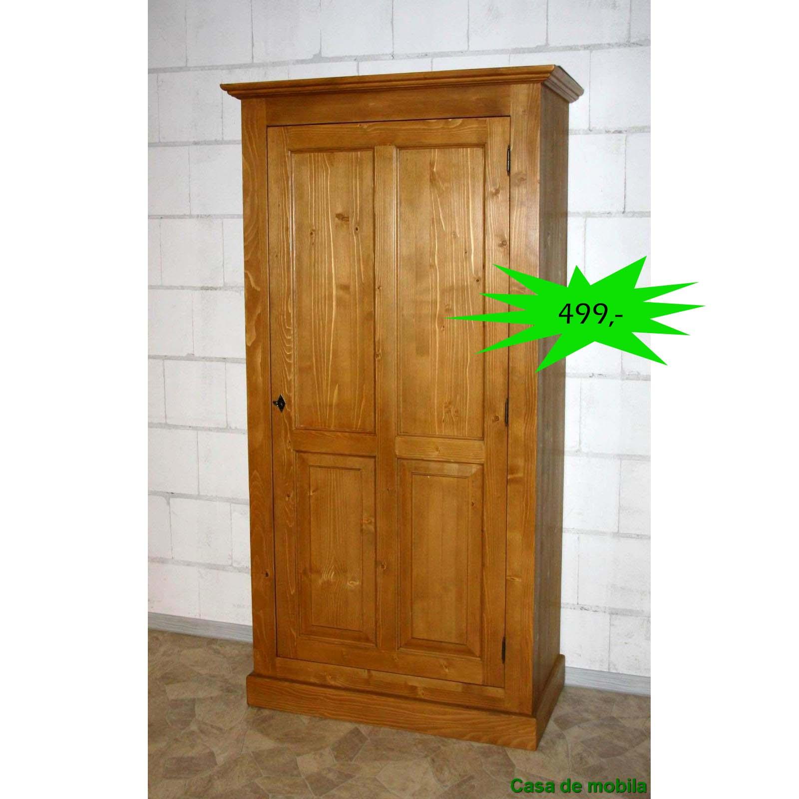 massivholz kleiderschrank fichte antik ps290 p002
