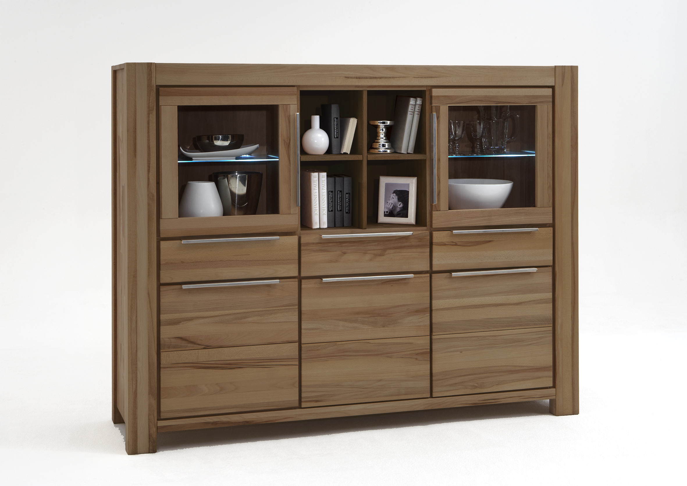 Couchtisch Elfo Highboard Xl Wildeiche Massiv