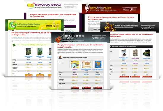 10 Product Review Affiliate Websites - Master Resell Rights - product review template