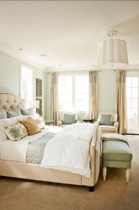 Bedroom Color Schemes for 2018: Cream  Master Bedroom Ideas