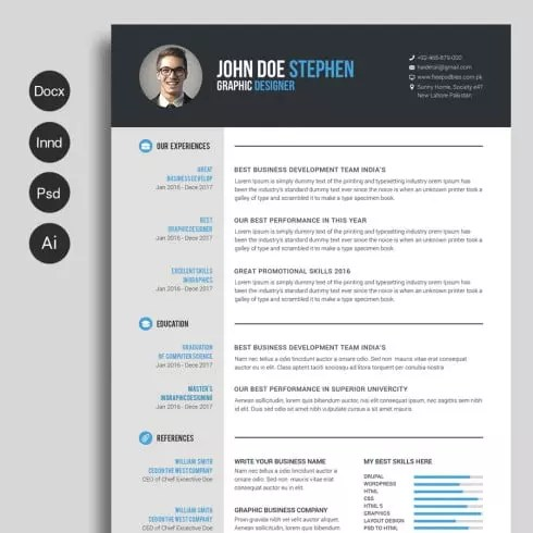 Free Resume Template Downloads Free Professional Resume Templates
