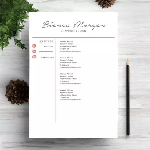 6 Professional Resume CV Templates Master Bundles - resume and cv templates