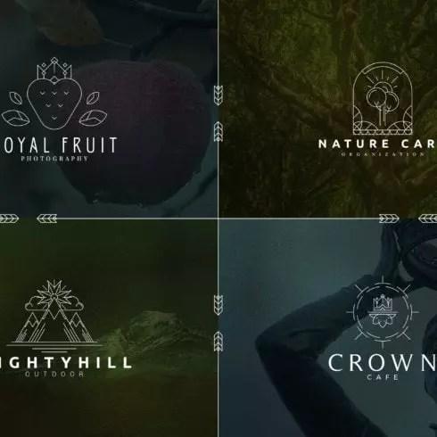 40 Boutique Logos - Master Bundles