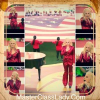 Lady Gaga Performs a Magnificent Version Of The Star Spangled Banner At SuperBowl 50.
