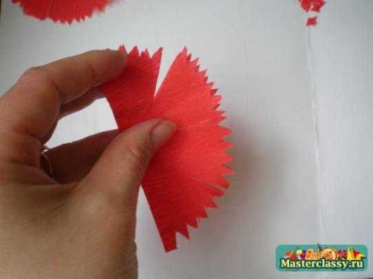 Как из бумаги сделать гвоздику