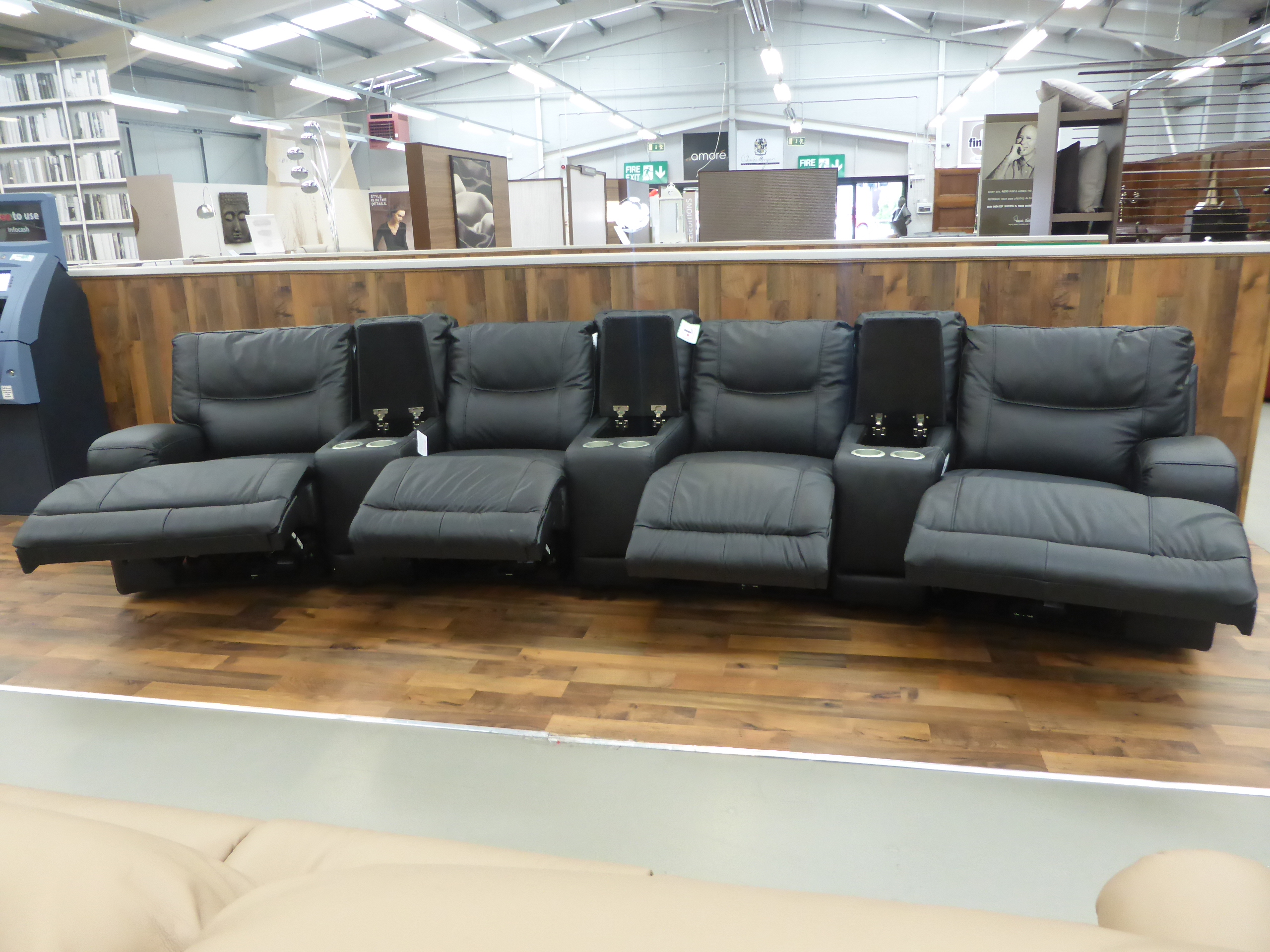 Cinemasofa Teatro Electric Reclining Cinema Sofa | Furnimax Brands Outlet