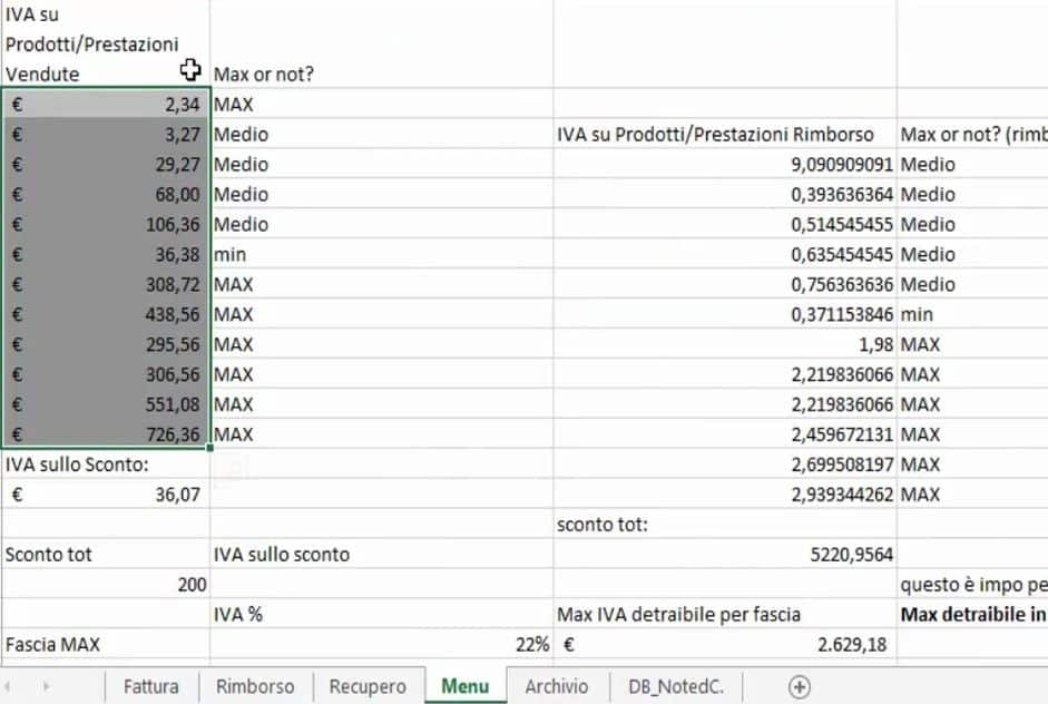 MasterExcelit Modello Fattura Excel Scarica Gratis