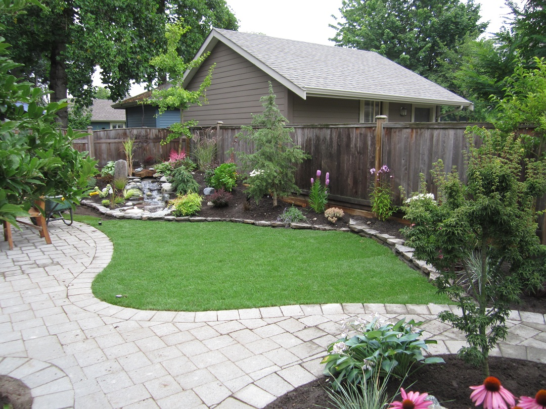 Small Garden Patio Designs Small Backyard Makeover Srp Enterprises 39 Weblog
