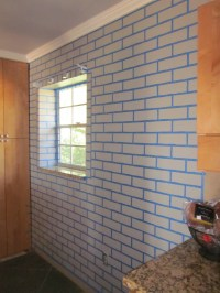 Realistic Faux Brick Wall With Paint | Master of None